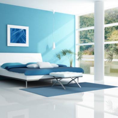 warna dinding yang tepat untuk rumah tipe 36