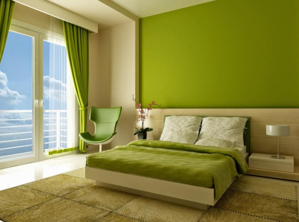 Warna Dinding Yang Tepat Untuk Rumah Tipe 36 warna hijau