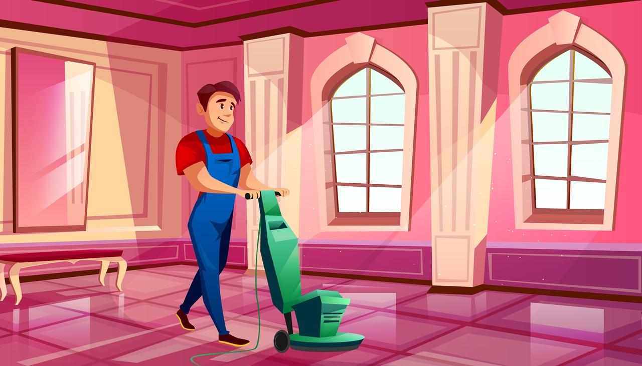 Tips Merawat Lantai Granit Dengan Alat Pembersih Lantai Granit