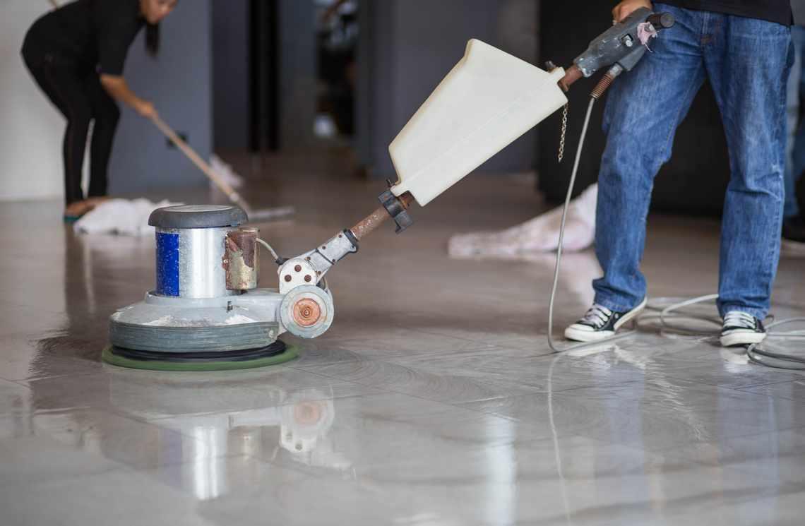 Pasang Poles Marmer Menyempurnaakan Lantai Marmer Anda