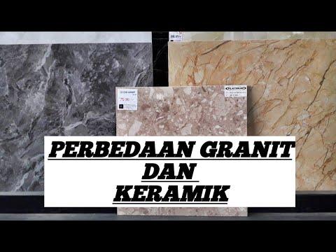 perbedaan granit dan keramik