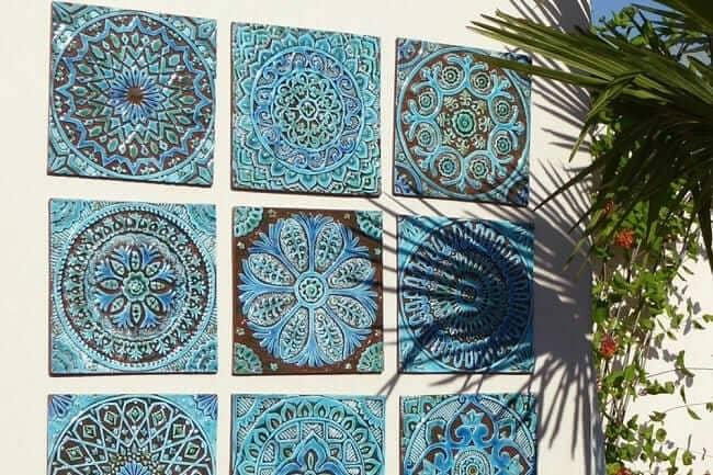 Motif Keramik Dinding