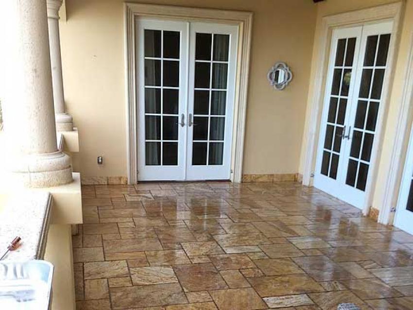 cara merawat warna granit untuk teras rumah agar tetap indah dan mengkilap