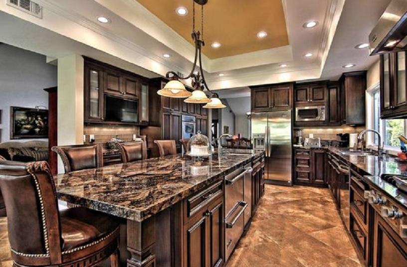 kelebihan granit untuk dapur yang lebih cantik